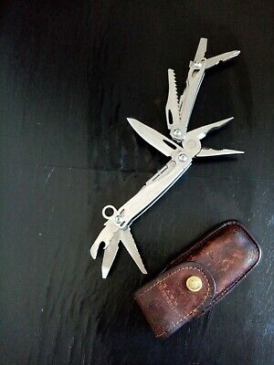 Leatherman sidekick multi tool with Leather Pouch 0817