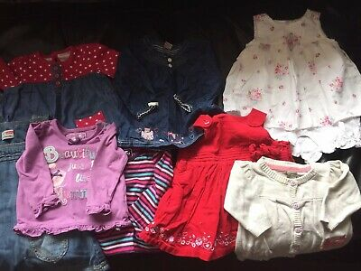 Bundle, Job Lot Of Baby Girls Clothes, 0-3 Months