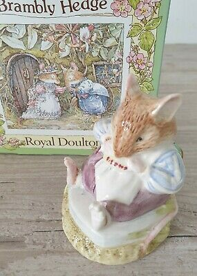 Royal Doulton Brambly Hedge Gift Collection figurine Mr Toadflax DBH10  Boxed