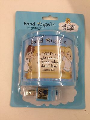 Band Angel  Boy Or Girl Night Light In Blue Or Pink