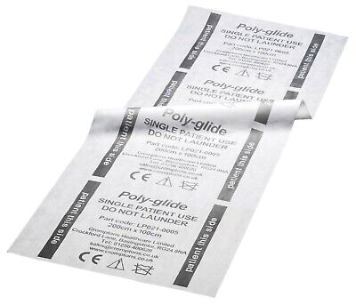Poly-Glide Flat Disposable Slide Sheets - Box of 100