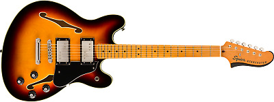 Fender Squier Classic Vibe Starcaster Semi Hollow Electric Guitar, Sunburst
