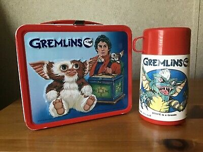 Vintage Gremlins Lunchbox And Thermos