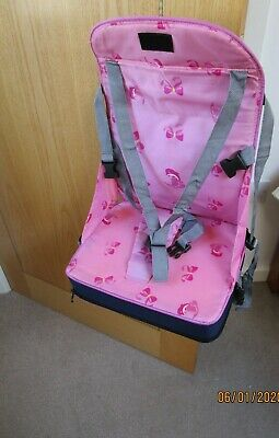 ortable travel feeding high chair booster seat Mamilani pink