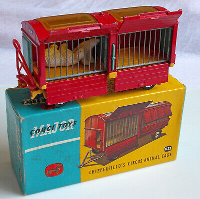 Corgi Major Toys 1123 Chipperfields Circus Animal Cage In Ovp