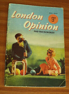 London Opinion and the Humorist May 1949 edition