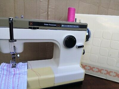 Vintage Frister + Rossmann Cub 7 Sewing Machine Cased Good Condition