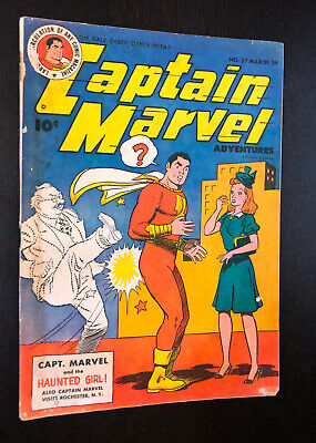 CAPTAIN MARVEL #57 (Fawcett 1946) -- VG-