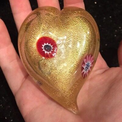 Beautiful Decorative Heart Murano Venezia