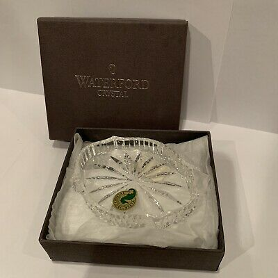 Waterford Crystal Jewel Tray Trinket Dish Decor Decorative New In Box