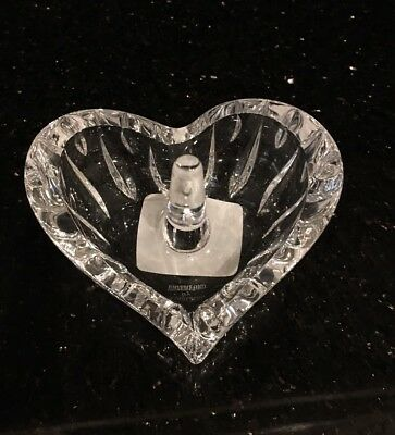 Marquis By Waterford Sheridan Ring Holder Lead Crystal Decoration