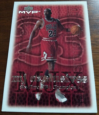 Michael Jordan, 1999-00 Ud Mvp, Mj Exclusives #208,  Bulls