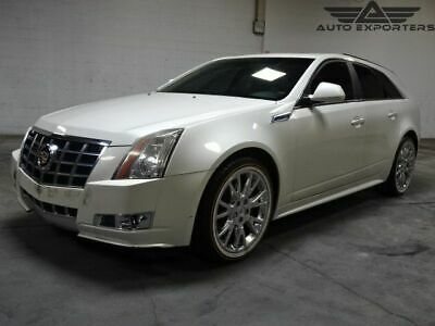 2013 Cadillac CTS Premium 2013 Cadillac CTS Wagon Salvage Damaged Vehicle! Priced To Sell! Wont Last! L@@K
