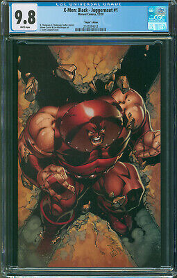 X-MEN BLACK JUGGERNAUT #1 J Scott Campbell 1:100 Virgin Variant CGC 9.8