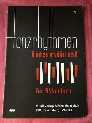 Tanzrhythmen international 1 Habanera Morroquito Pepita Topfit Akkordeon Noten