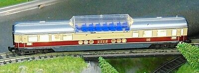 DB TEE observation coach  WITH LIGHTS     by MINITRIX   N Gauge  (4)