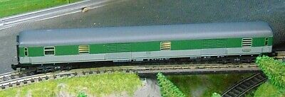 DB express baggage coach  WITH LIGHTS     by MINITRIX   N Gauge  (4)