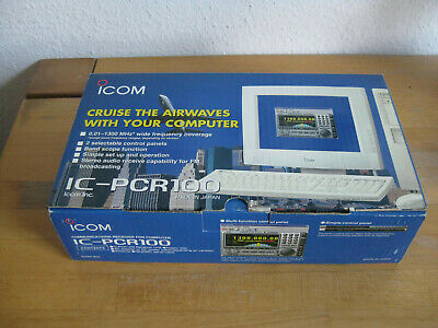 Icom IC-PCR100 top Zustand ind Ovp. Nr.2