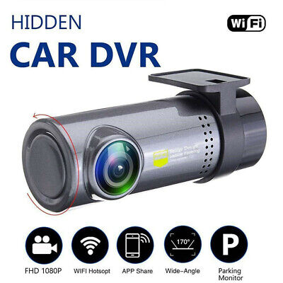Mini Full HD 1080P WiFi Versteckte KFZ Auto DVR Kamera Dashcam Video Recorder SU