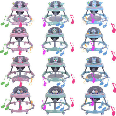 Baby Walker Multi Type Musical Toy Tray First Steps Push Along Bouncer Activity