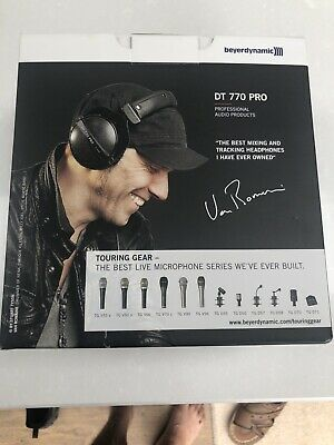 Beyerdynamic DT 770 Pro Headphones 32 Ohm - Black