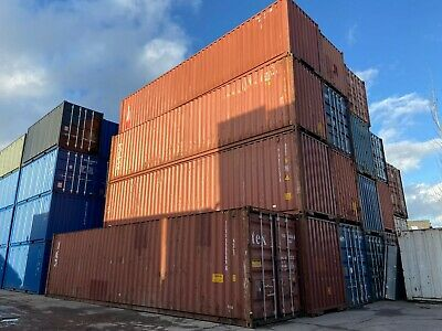 40Ft Used Hc Shipping Container