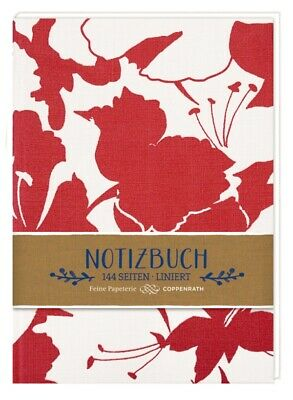 Notizbuch - All about red No 1 (Blüten)