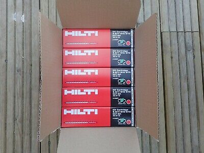 Hilti Red Cartridges Shot  For DX 460, DX5 and DX 450 nail gun. 10 boxes.