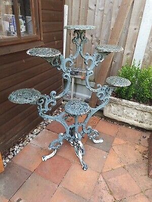 Victorian style Cast iron plant pot stand