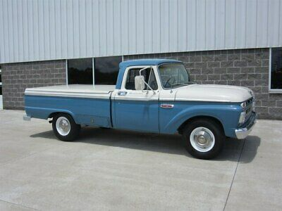 1965 Ford F-250 Camper Special Nicely Restored Southern California Truck!!!