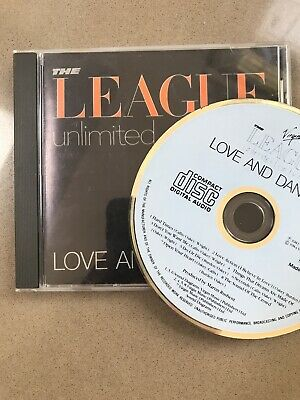 League Unlimited Orchestra - Love and Dancing CD Album (1981) CDOVD