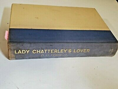 Lady Chatterley's Lover D.h. Lawrence Hardcover Grove Press 1959