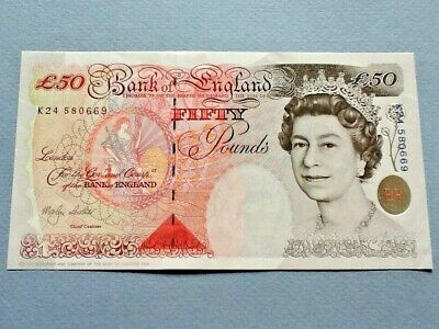 Great Britain 50 Pounds P-388b 1994