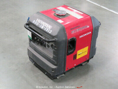 2015 Honda EU3000is Portable 120V 3,000 Watt Generator Inverter Gas 2HP bidadoo