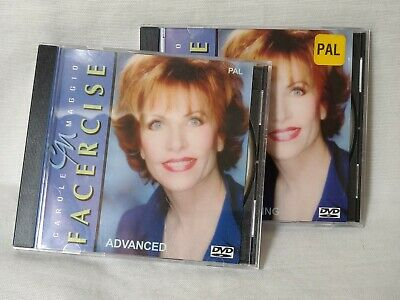 Carole Maggio  FACERCISE  the Natural Facelift 2x DVD/ Beginning & Advanced