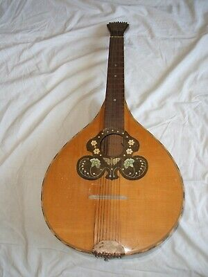 Waldzither Waldoline Original Schraubfächermechanik Cittern