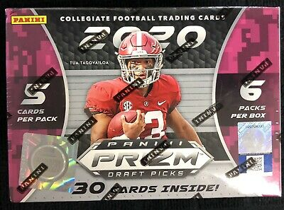 2020 Panini Prizm Draft Picks Football Blaster Box Brand New Factory Sealed