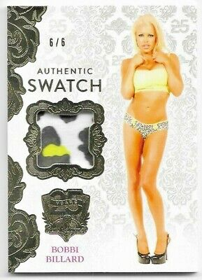 2019 19 Benchwarmer 25 Years Series 2 Bobbi Billard Authentic Swatch Card /6 6/6
