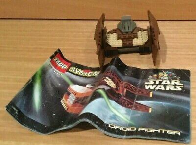 Lego 7111 Star Wars Droid Fighter (rare) Set from 1999