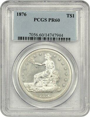 1876 Trade$ PCGS PR 60 - Desirable Proof Trade Dollar - US Trade Dollar