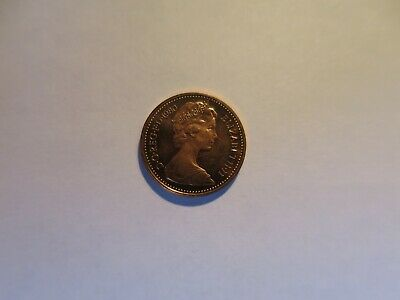 1980 Uncirculated Half Penny. From Royal Mint Set