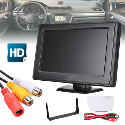 "4.3 "" LCD Auto KEZ HD Screen Monitor DVD Display mit Kable for Rückfahrkamera"