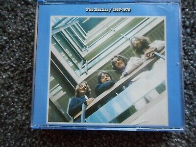 """Beatles """"1967-1970"""" 2 Cd Set Lucy In The Sky I Am The Walrus Hey Jude Revolution"""