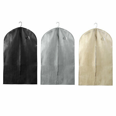 Breathable Suit Carrier Travel Garment Bag Clothes Cover(1 Pack)
