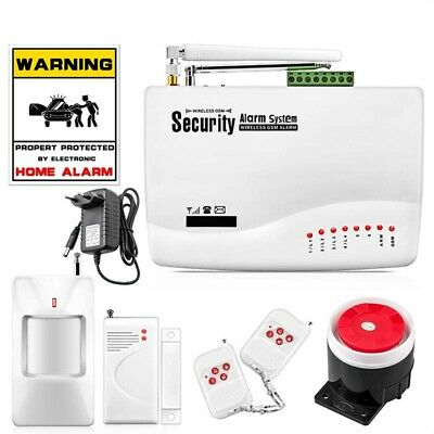 10A Home Wireless Security Alarm System Warning Infrared Door Magnetic System