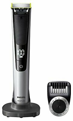 Philips OneBlade Pro Hybrid Trimmer & Shaver with 14-Length Comb (UK 2-Pin