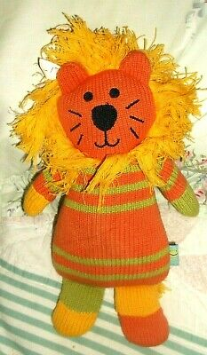 """Rich Frog  LION   Plush   Toy  KNITTED 11"""""""