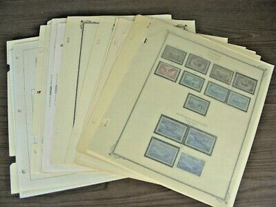 CANADA, Excellent assortment of Stamps hinged/mounted in a variety of pages