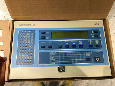 Ziton ZP3 Fire Alarm Repeater Panel With Recess Back Box Addressable