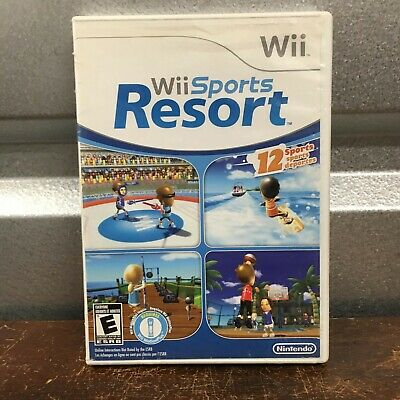 Wii Sports Resort (Nintendo Wii, 2009) Complete and Tested Fast Free Shipping